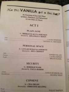 inside the program