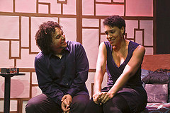 Jason Jeremy and Leontyne Mbele-Mbong - photo Jim Norrena