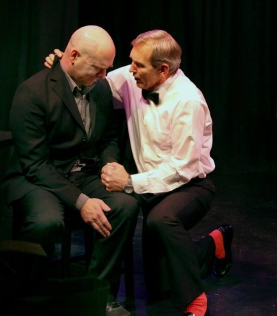 Scott Ragel and Jeffrey Orth in Lawfully Wedded by Morgan Ludlow | Wily West Productions | Photo Jim Norrena