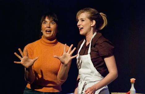 Nicole Sun and Sarah Moser | Photo Bill Boice