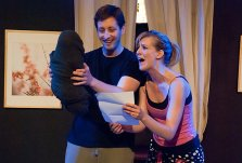 Philip Goleman and Sarah Moser | Photo Bill Boice