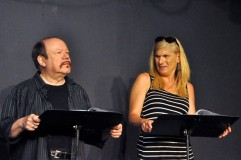 THE POSSIBILITY rehearsal (photo Charley Lerrigo)
